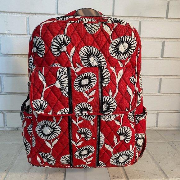 Beautiful Vera Bradley Backpack / Laptop Book Bag